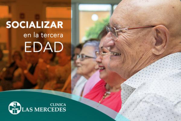 Beneficios de socializar en personas mayores