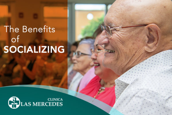 Benefits of socializing for the elderly