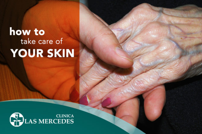 Skincare for the elderly