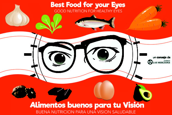Alimentos que fortalecen tu vista