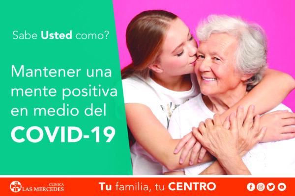 Mantener una mentalidad positiva en medio de la pandemia de COVID-19