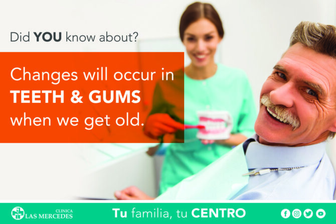 Aging Changes In Teeth And Gums