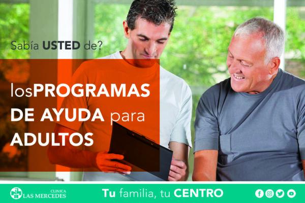 Información Sobre Programas Y Servicios De Ayuda Para Personas Mayores.