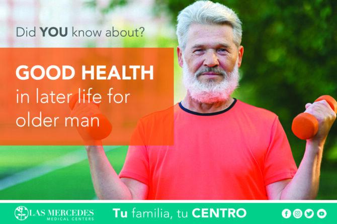 Good Health In Later Life For Older Men