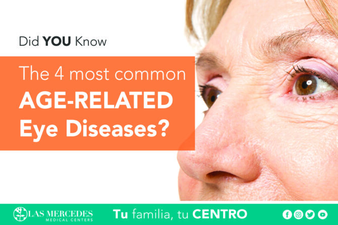 The 4 Most Common Age-Related Eye Diseases