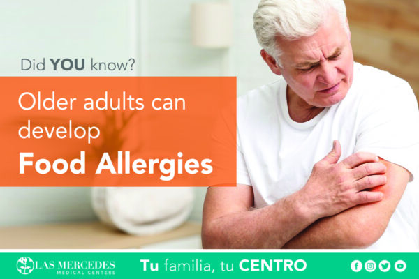 Can Older Adults Develop Food Allergies?